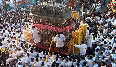 Fest zu Ehren der Heiligen Agatha von Catania