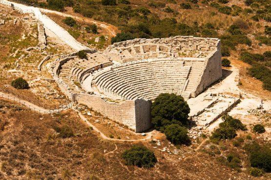 Anfiteatro di Segesta