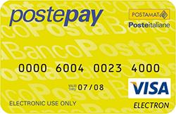 Noleggio auto senza carta di credito postepay